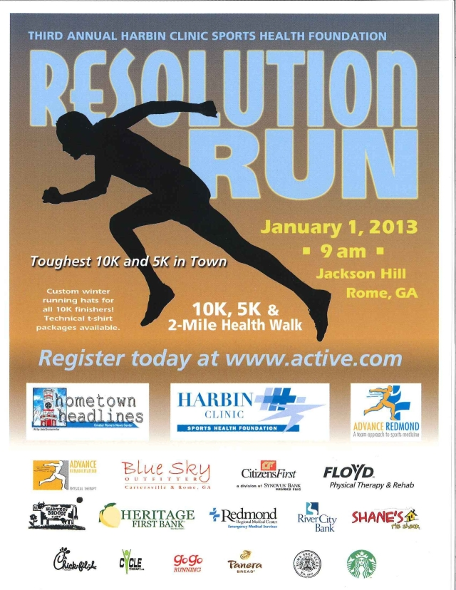 2013 Resolution Run