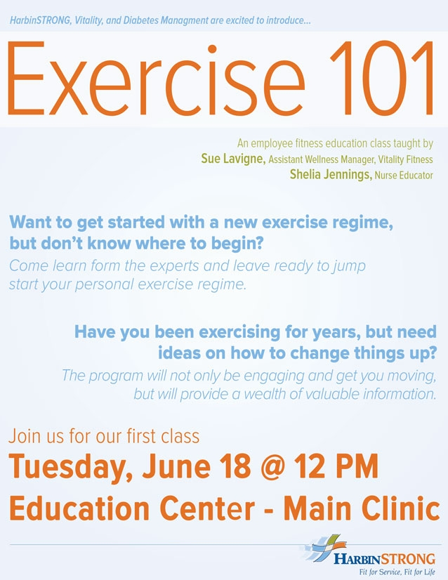 Exercise 101 June 18