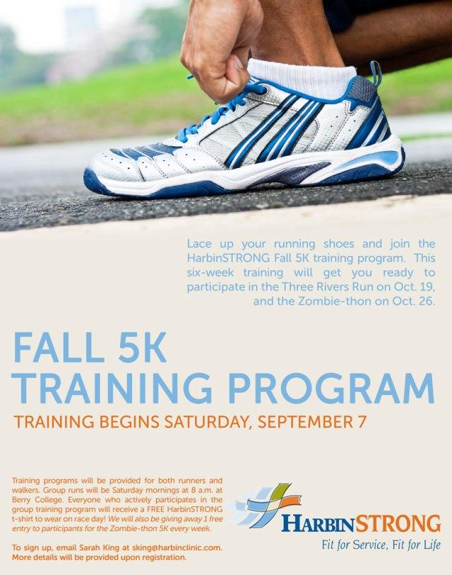 Fall 5K training program