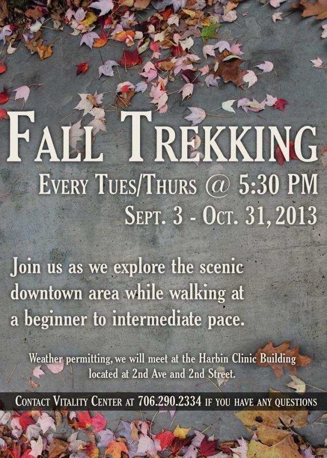 Fall Trekking
