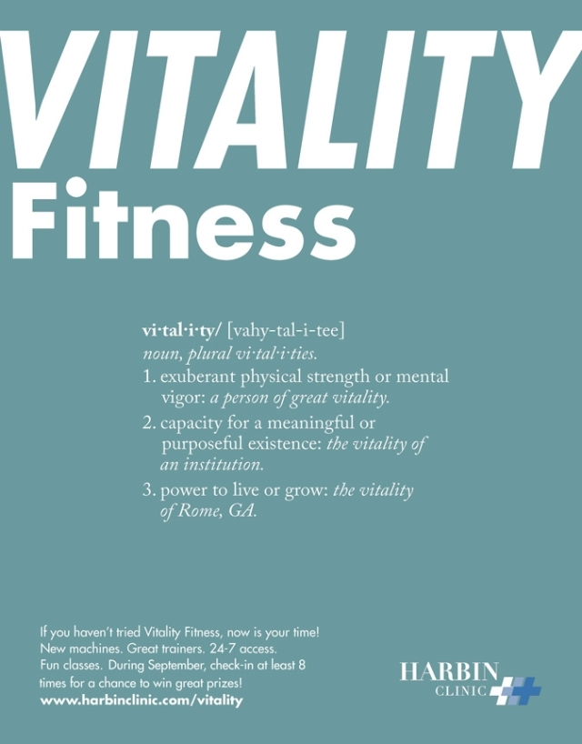 Vitality Check In Challenge