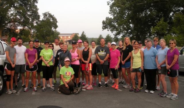 1st 5K group run 2