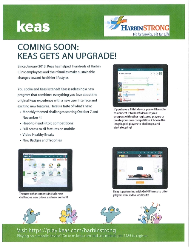 KEAS Upgrade Flyer