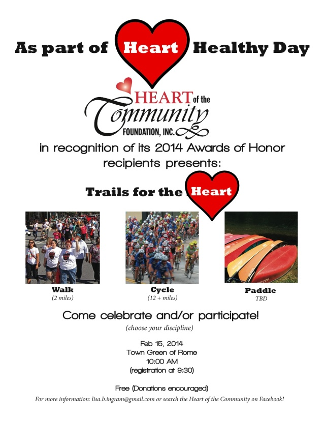 Heart walk 2014 flyer