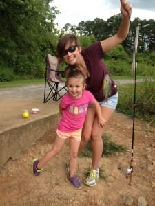 Kimberlee Miller Peds daughter Joleen Greer at Paris Lake GHC