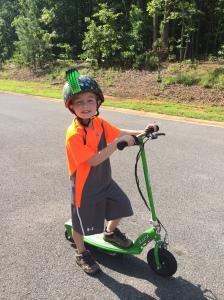 Sam Lindley age 7 son of heather Hickman CPNP pediatrics