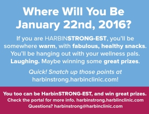 Where will you be on Jan 22