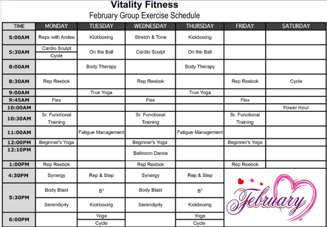 Vitality February