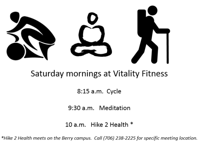 Saturdays at Vitality