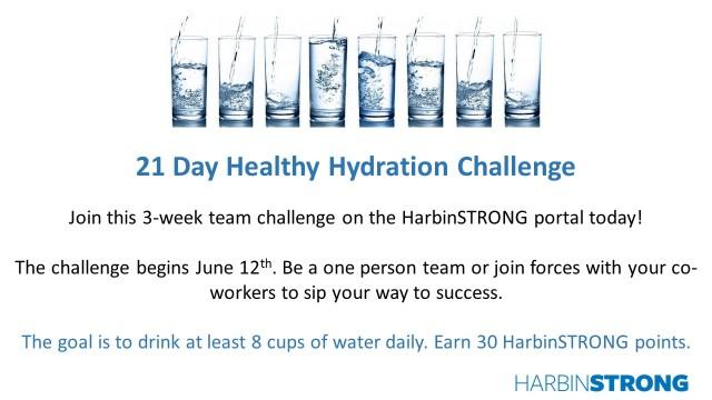 Hydration Challenge