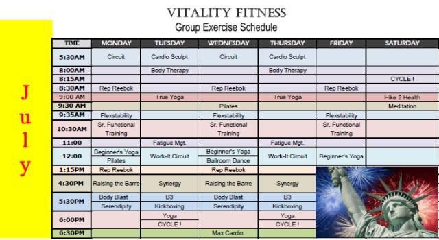 vitality july 17