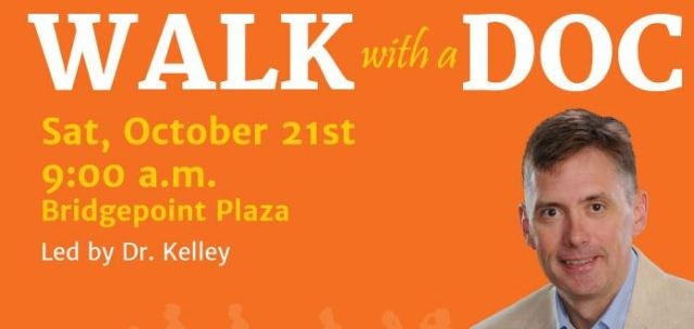 Walk with a doc Oct