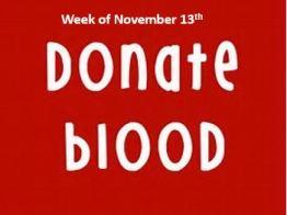 Nov blood drive image
