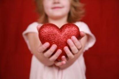 holding heart image