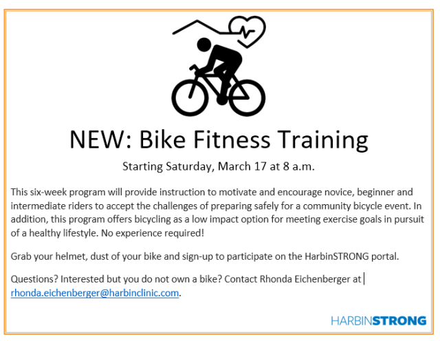 Bike Fitness flyer