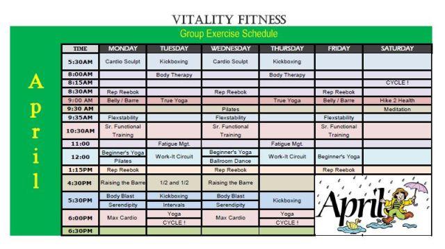 Vitality April