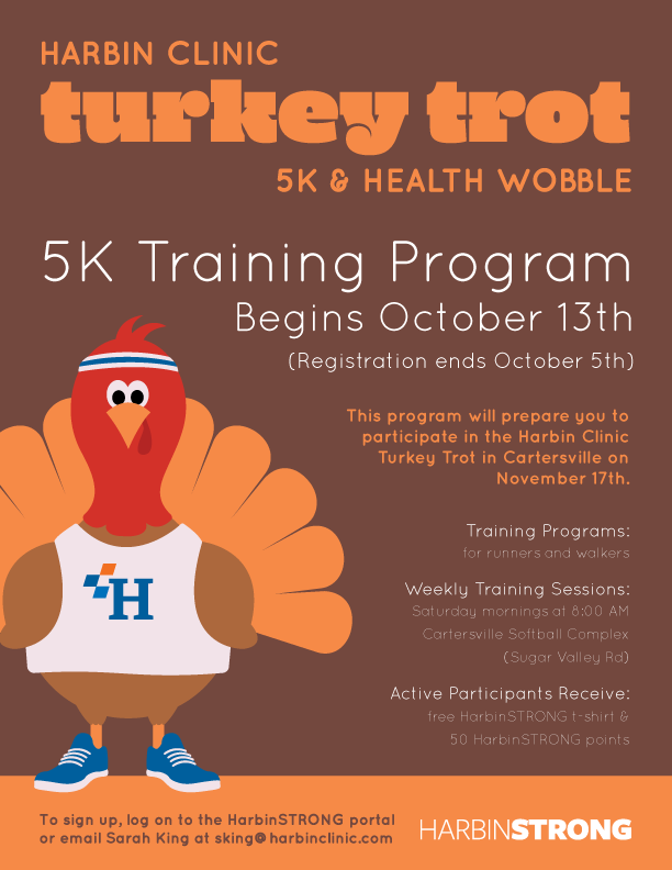 HarbinSTRONG-Training-Poster_Turkey-Trot_2018