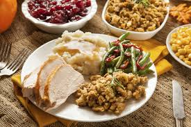 Thanksgiving plate image