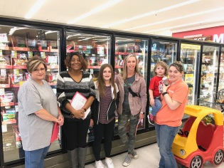Cartersville grocery tour March 23