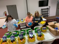 Salvation Army easter baskets