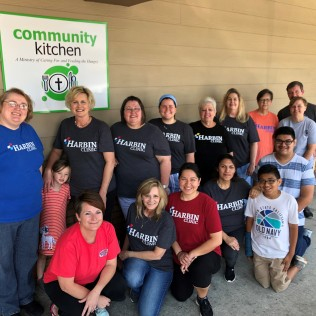 Community Kitchen group May 18